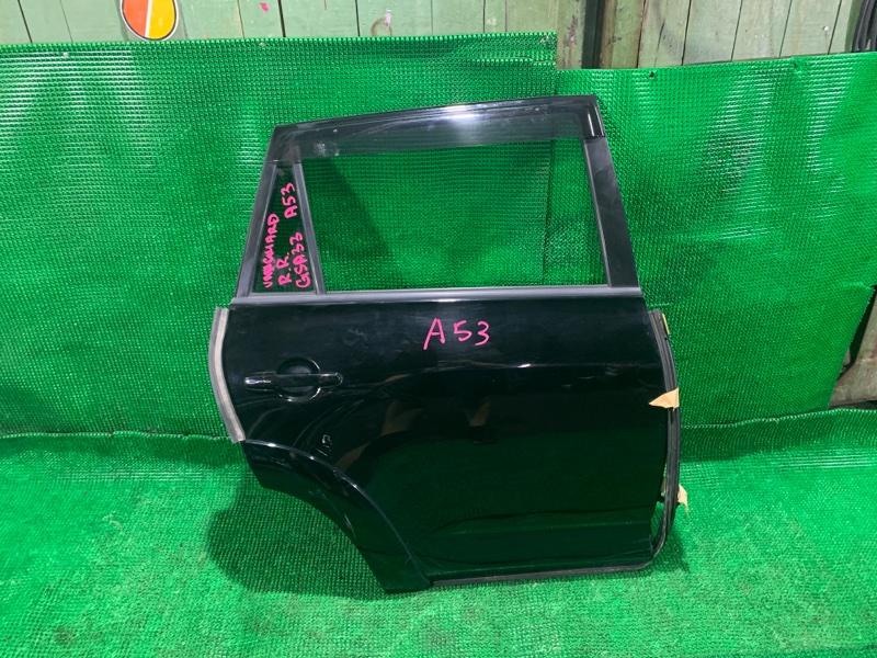 Дверь Toyota Vanguard GSA33 2GR-FE 2007 задняя правая (б/у)
