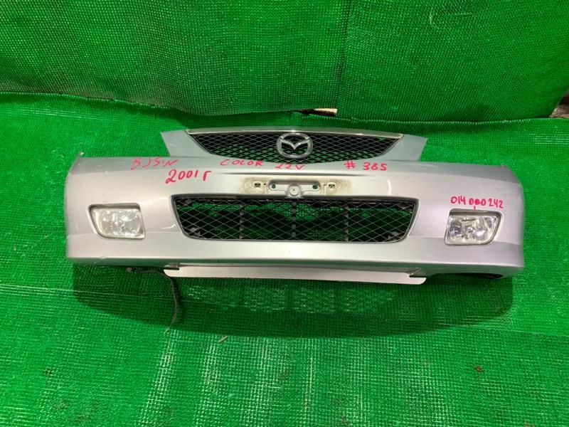 Бампер Mazda Familia BJ5W ZL-DE передний (б/у)