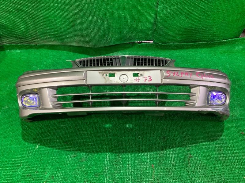 Бампер Nissan Bluebird Sylphy QG10 QG18-DE 2000 передний (б/у)