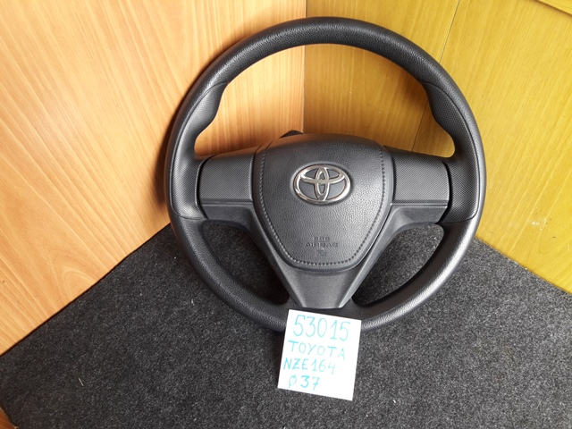 Руль Toyota Corolla Fielder NZE164 1NZ-FE 2014 (б/у)