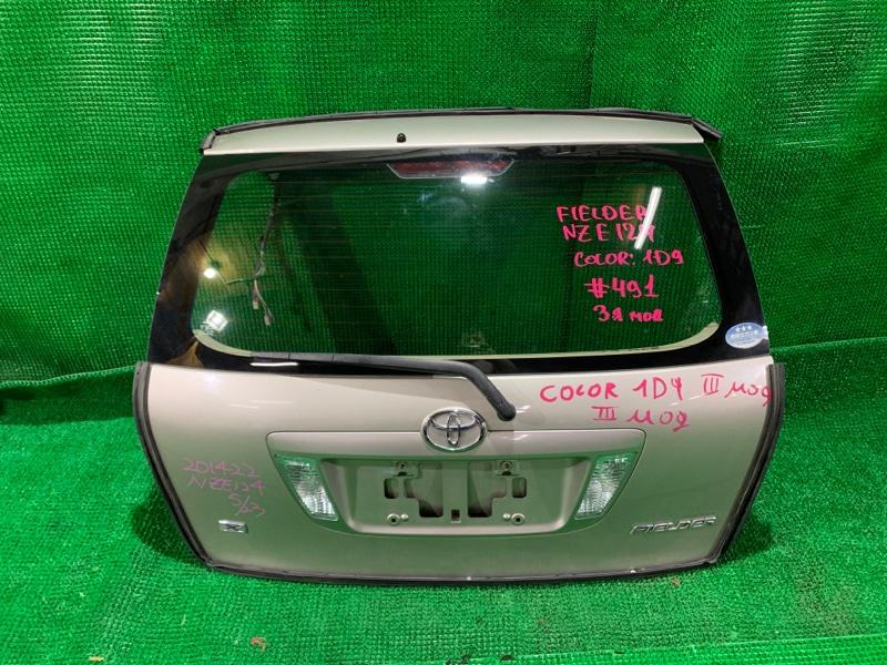 Дверь 5-я Toyota Fielder NZE124 1NZ-FE 2005 (б/у)