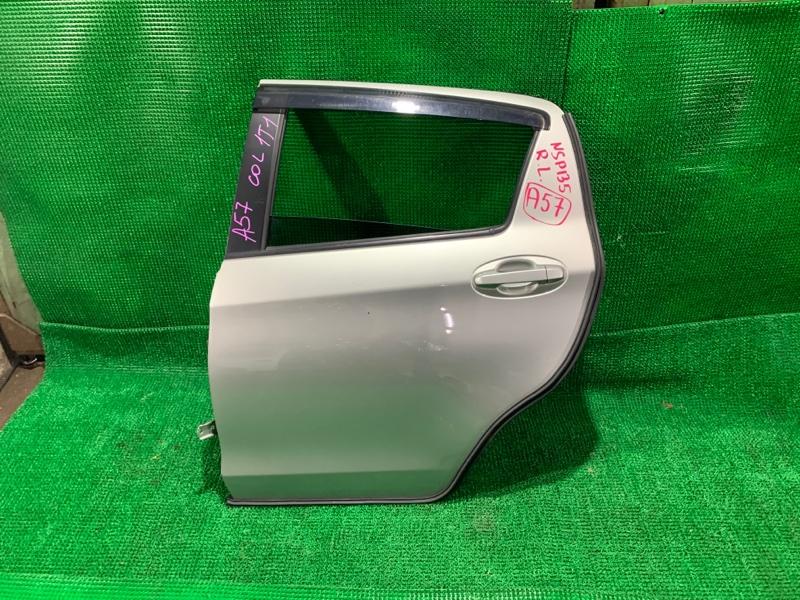 Дверь Toyota Vitz NSP135 1NR задняя левая (б/у)