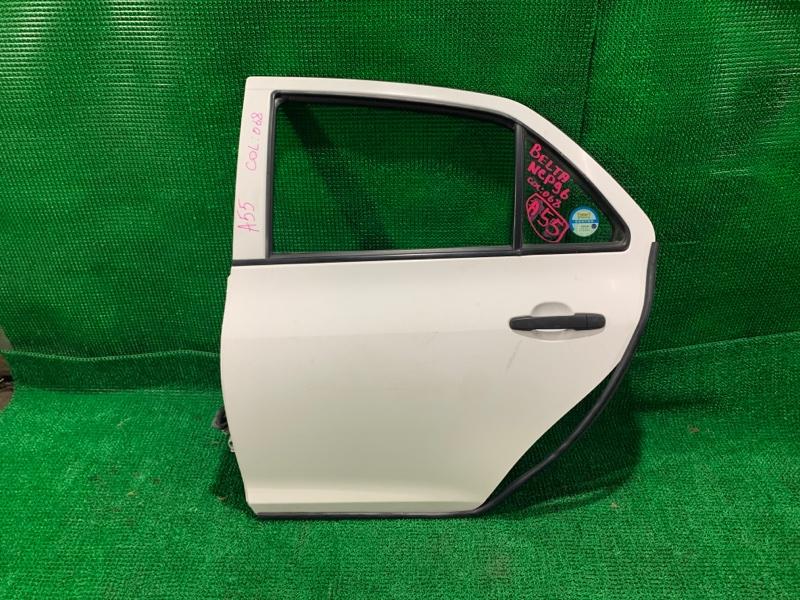 Дверь Toyota Belta NCP96 2NZ-FE 2011 задняя левая (б/у)