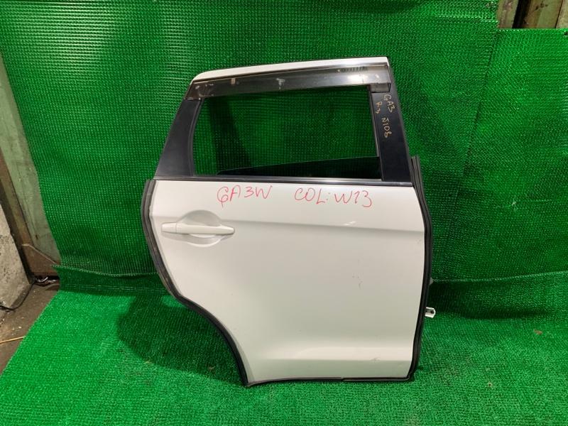 Дверь Mitsubishi Rvr GA3W задняя правая (б/у)