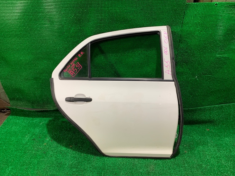 Дверь Toyota Belta NCP96 2NZ-FE 2011 задняя правая (б/у)