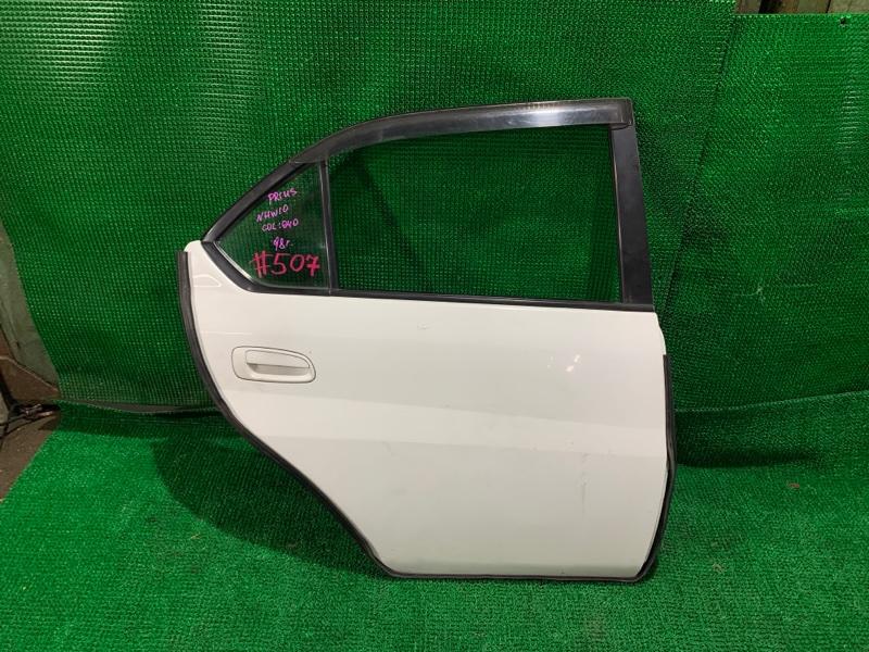 Дверь Toyota Prius NHW10 1NZ-FXE 1998 задняя правая (б/у)