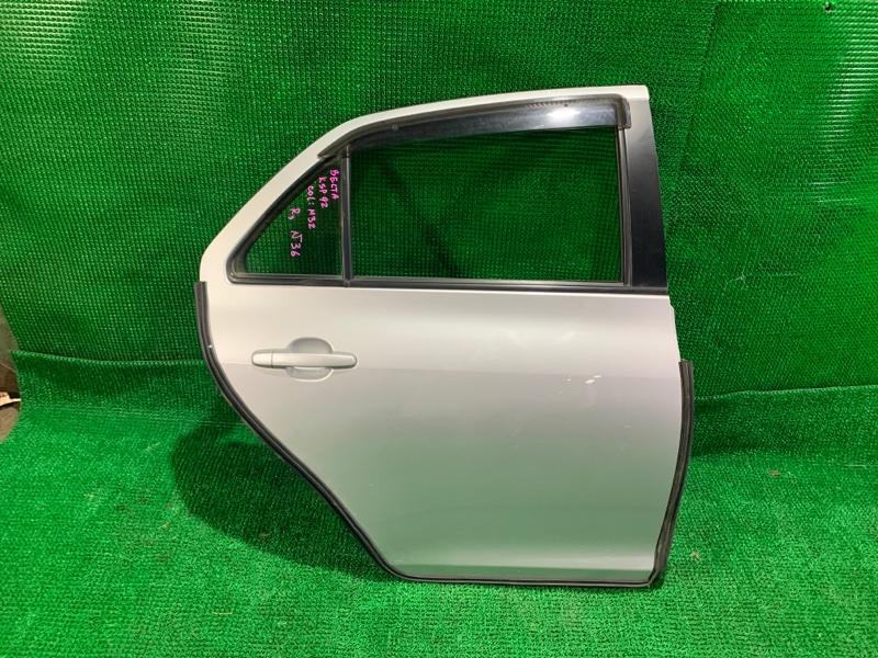 Дверь Toyota Belta KSP92 1KR-FE задняя правая (б/у)