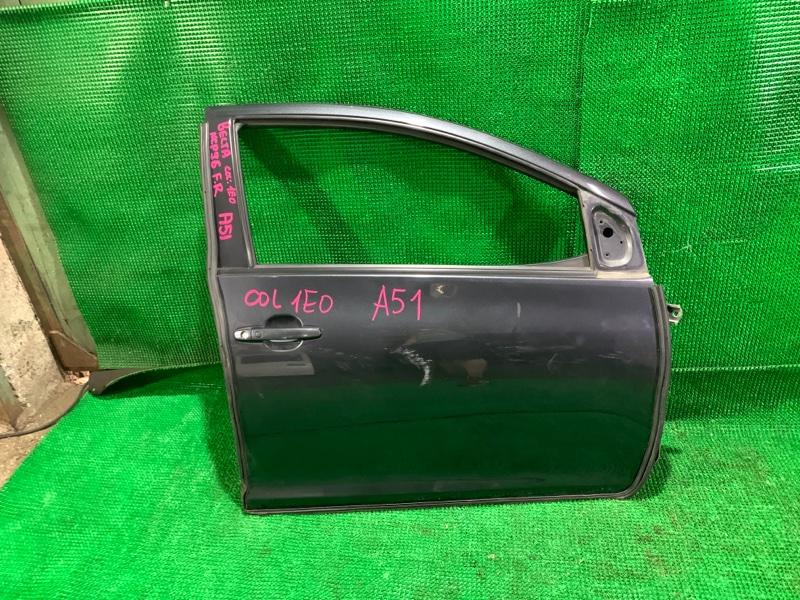 Дверь Toyota Belta NCP96 2NZ-FE 2005 передняя правая (б/у)