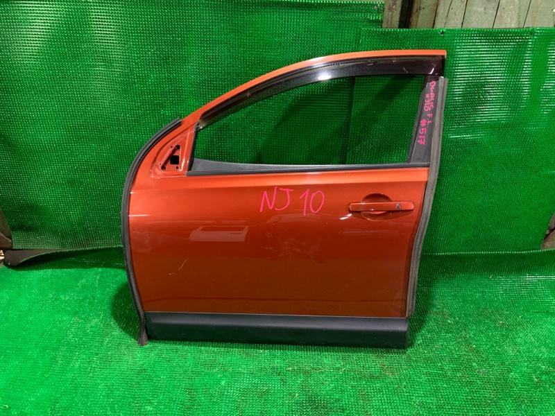 Дверь Nissan Dualis NJ10 MR20-DE 2007 передняя левая (б/у)