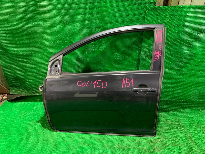 Дверь Toyota Belta NCP96 2NZ-FE 2005 передняя левая (б/у)
