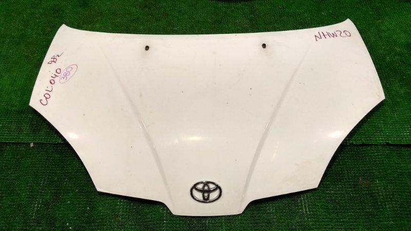 Капот Toyota Prius NHW10 передний (б/у)
