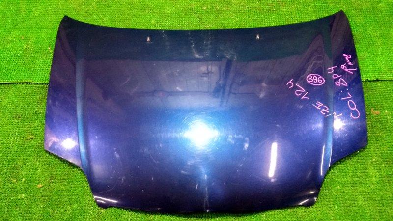 Капот Toyota Corolla NZE124 передний (б/у)