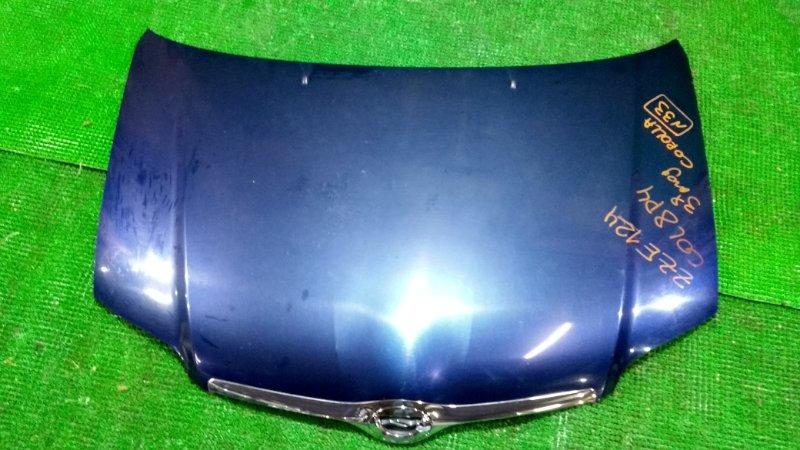 Капот Toyota Corolla ZZE124 (б/у)