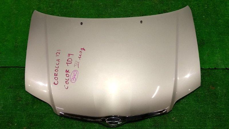 Капот Toyota Corolla NZE121 передний (б/у)