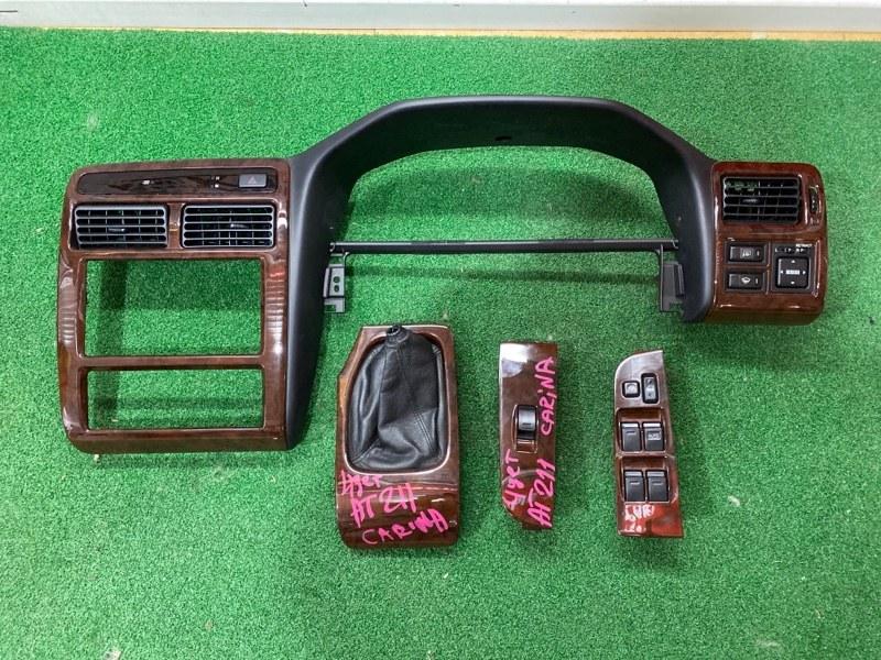 Консоль магнитофона Toyota Carina AT211 (б/у)