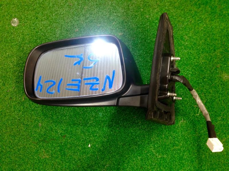 Зеркало Toyota Corolla Fielder NZE124 левое (б/у)
