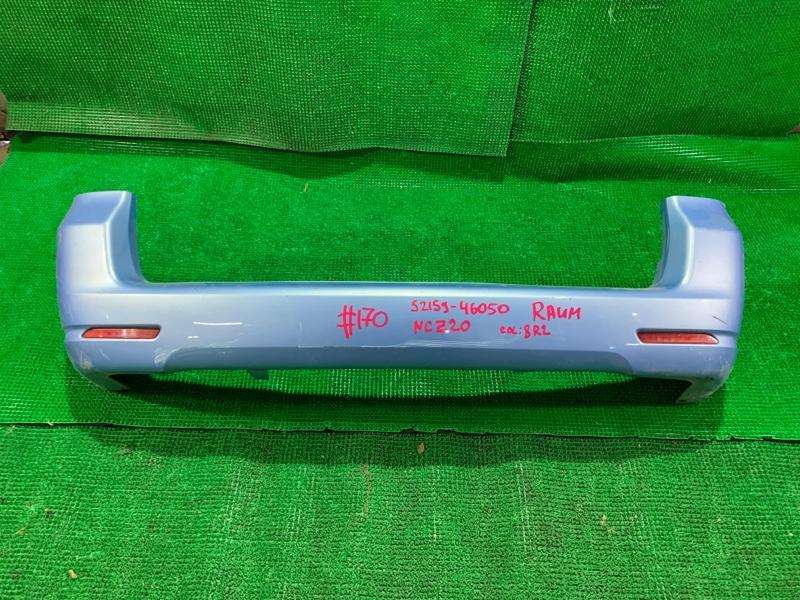 Бампер Toyota Raum NCZ20 1NZ-FE задний (б/у)
