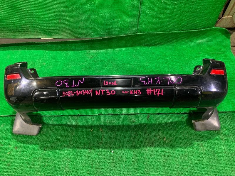Бампер Nissan X-Trail NT30 QR20-DE 2005 задний (б/у)