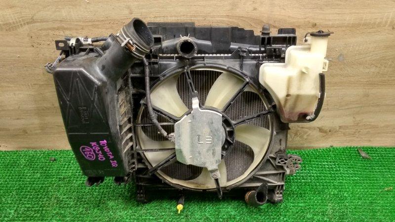 Радиатор Toyota Iq KGJ10 (б/у)