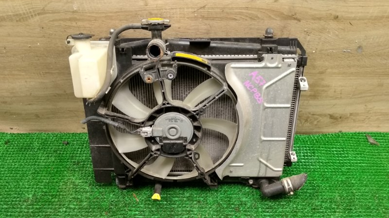 Радиатор Toyota Vitz NSP135 1NR (б/у)