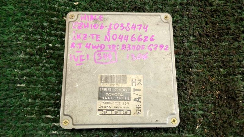 Блок efi Toyota Hiace KZH106 1KZ-TE (б/у)