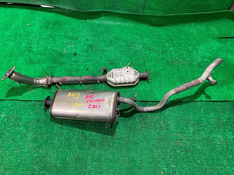 Глушитель Suzuki Escudo TA01W G16A 1996 (б/у)
