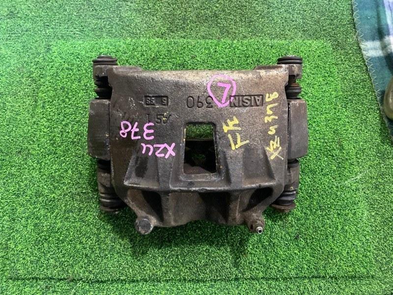 Суппорт Toyota Dyna XZU378 S05C передний левый (б/у)