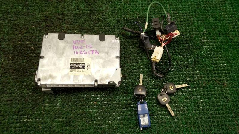 Блок efi Toyota Crown Majesta UZS173 1UZ-FE (б/у)