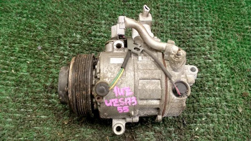 Компрессор кондиционера Toyota Crown Majesta UZS173 1UZ-FE (б/у)