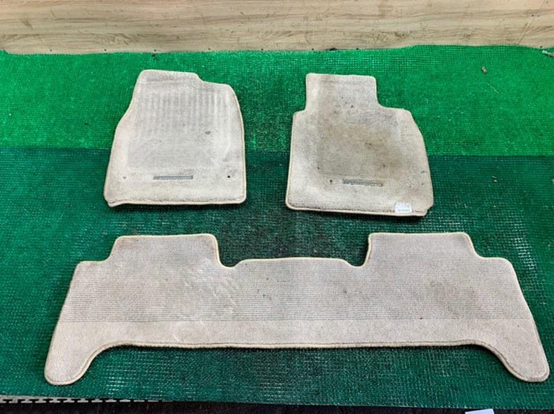Коврики комплект Toyota Land Cruiser UZJ100-0140181 2UZ-FE 2002 (б/у)
