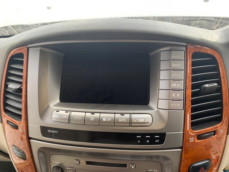 Монитор Toyota Land Cruiser UZJ100-0140181 2UZ-FE 2002 (б/у)
