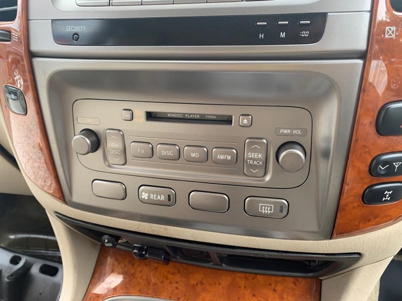 Магнитола Toyota Land Cruiser UZJ100-0140181 2UZ-FE 2002 (б/у)