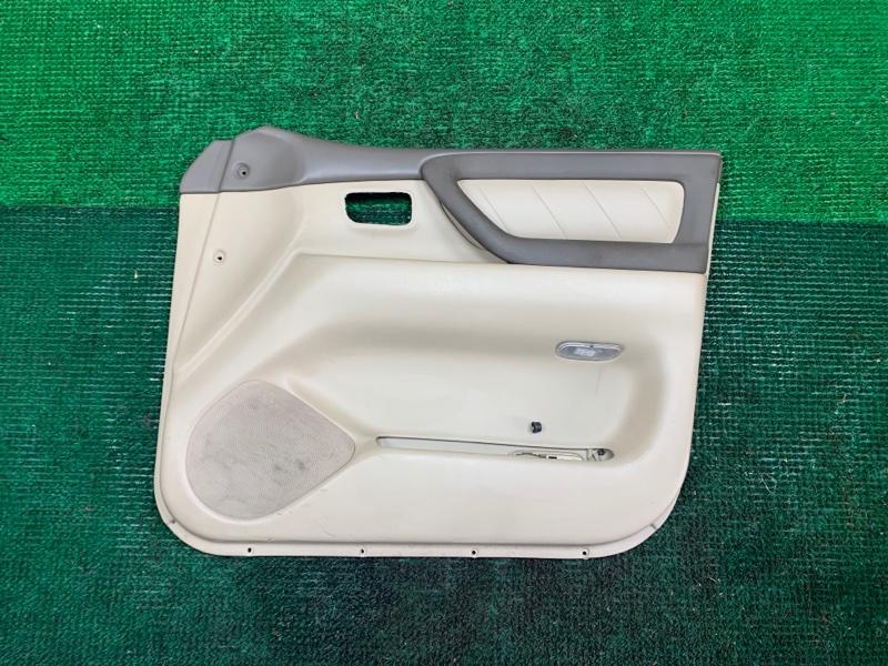 Обшивка дверей Toyota Land Cruiser UZJ100 2UZ-FE 2002 передняя правая (б/у)