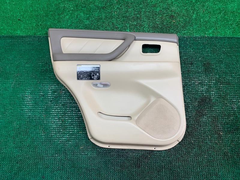 Обшивка дверей Toyota Land Cruiser UZJ100 2UZ-FE 2002 задняя левая (б/у)
