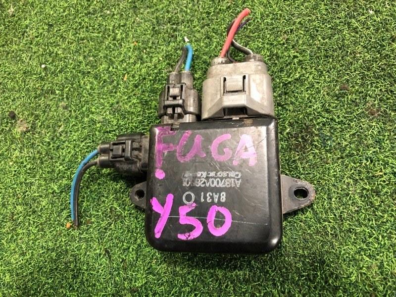 Блок управления вентилятором Nissan Fuga Y50 VQ35-DE (б/у)