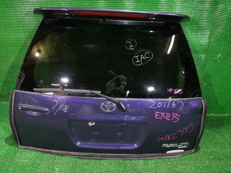 Дверь 5-я Toyota Raum EXZ15 (б/у)