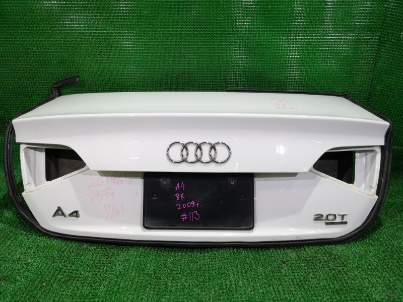 Крышка багажника Audi A4 B8 2009 (б/у)