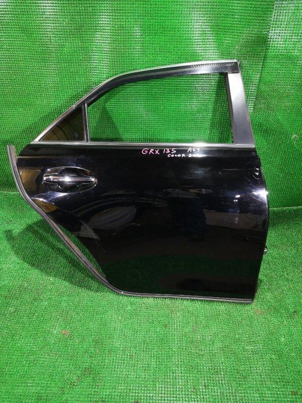 Дверь Toyota Mark X GRX135 4GR-ESE 2011 задняя правая (б/у)
