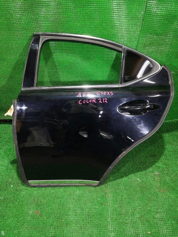 Дверь Lexus Is250 GSE25 4GR-FSE 2006 задняя левая (б/у)