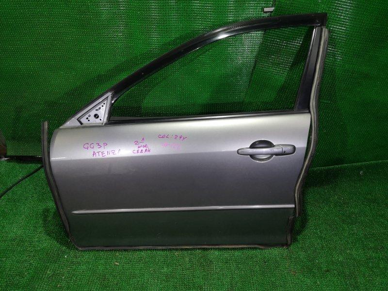 Дверь Mazda Atenza GG3P передняя левая (б/у)