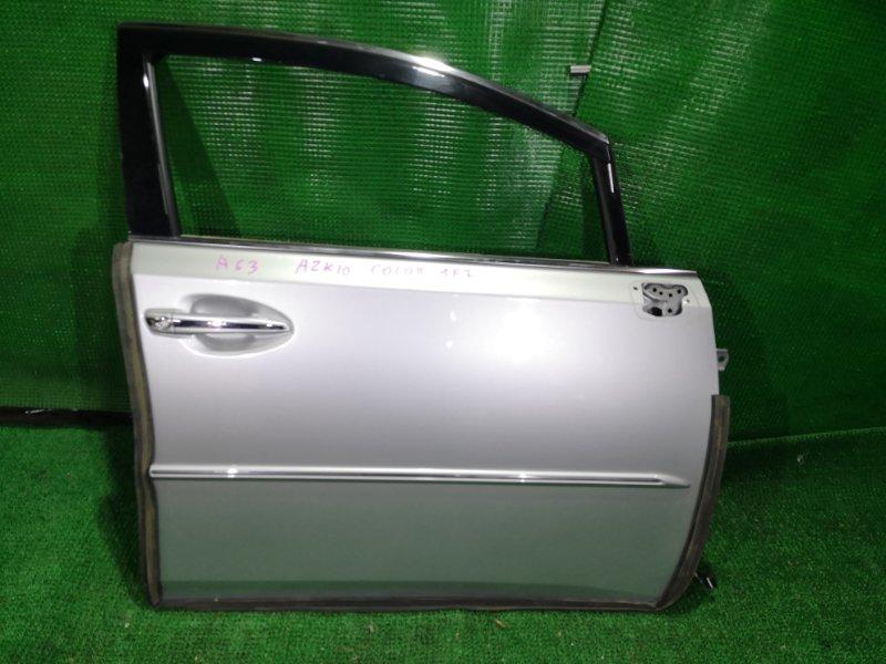 Дверь Toyota Sai AZK10 2AZ-FXE 2010 передняя правая (б/у)