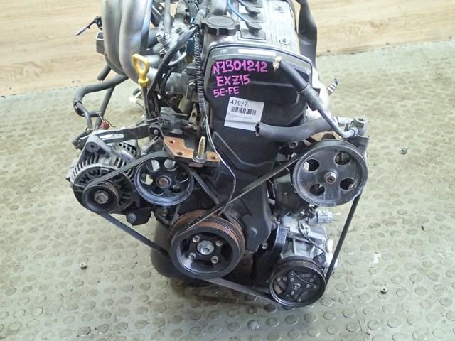 Двс Toyota Raum EXZ15 5E-FE 1998 (б/у)