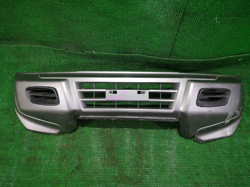 Бампер Mitsubishi Pajero V78W передний (б/у)