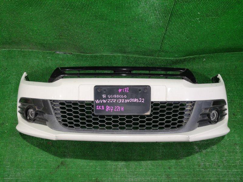 Бампер Volkswagen Scirocco WVWZZZ13ZDV008522 CTH передний (б/у)