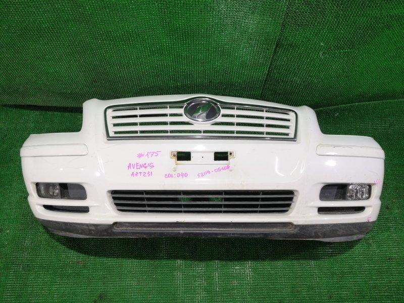 Бампер Toyota Avensis AZT251 передний (б/у)