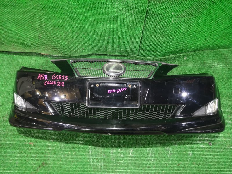 Бампер Lexus Is250 GSE25 4GR-FSE 2006 передний (б/у)
