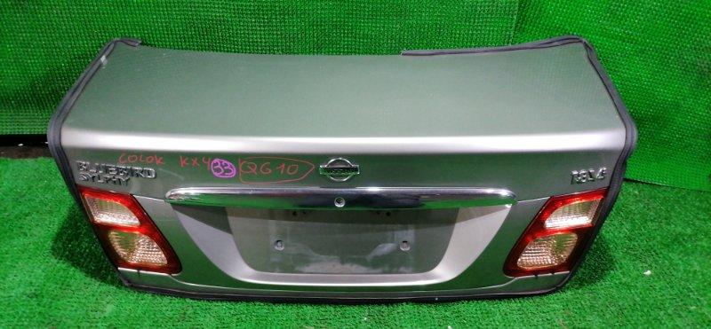 Крышка багажника Nissan Bluebird Sylphy QG10 (б/у)
