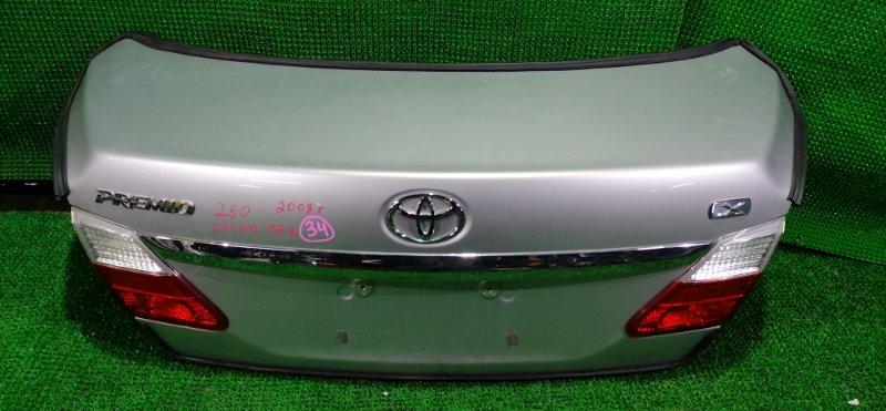 Крышка багажника Toyota Premio NZT260 2008 (б/у)