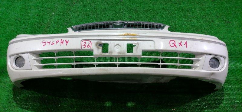 Бампер Nissan Bluebird Sylphy G10 передний (б/у)