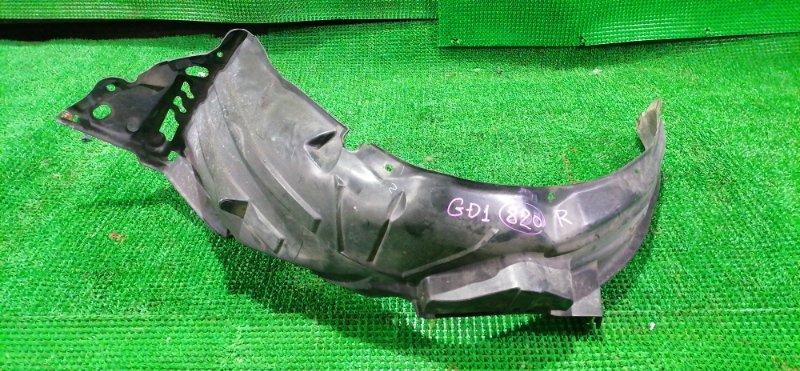 Подкрылок Honda Fit GD1 передний правый (б/у)